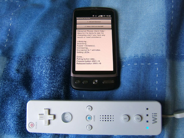 Use a Wii Mote on your Android device | Digiex