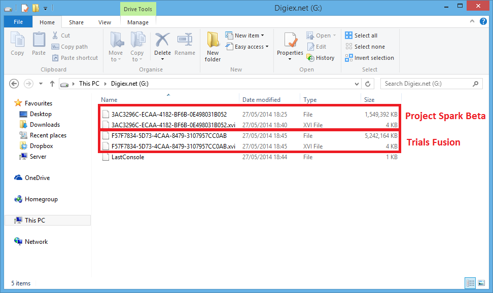 Copy and Extract content from an Xbox One USB Formatted Drive on a