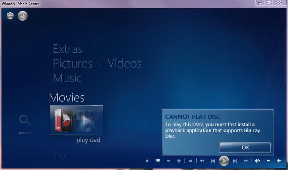 Windows media centre guide not updating